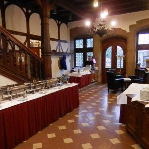 Buffet Flur im Schloss