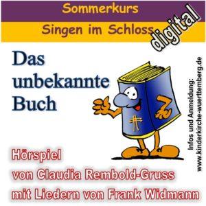 Plakat Buch mit Schrift